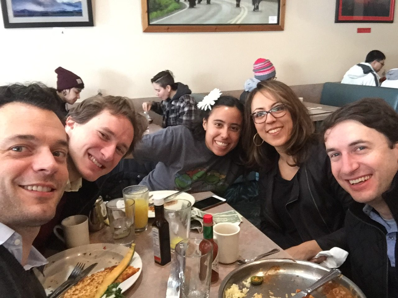 Breakfast with Josef Zpacek, Jessica Escobar, Tanya Bannister, and Noah Bendix-Balgley